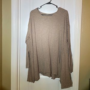 Easel Striped Tunic